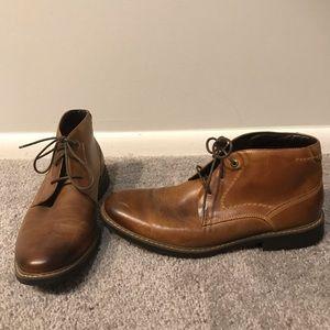 Rockport Trutech Leather Chukka Boots